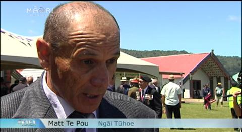 Video for Armistice Day commemoration remembers Tūhoe troops