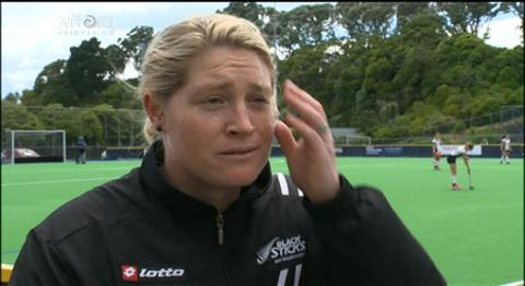 Video for Former Blacksticks player talks about the flipside of being a coach