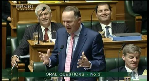 Video for Opposition MPs put tough questions to John Key