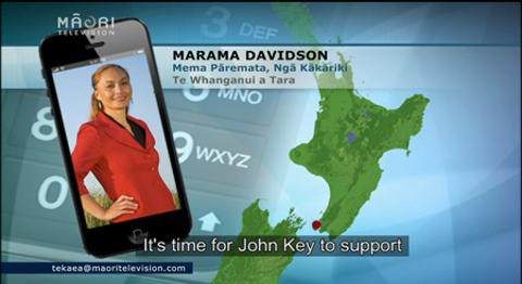 Video for Green Party MP Marama Davidson says Prime Minister should step down from white ribbon
