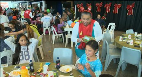 Video for Auckland City Mission feeds over 2000 people