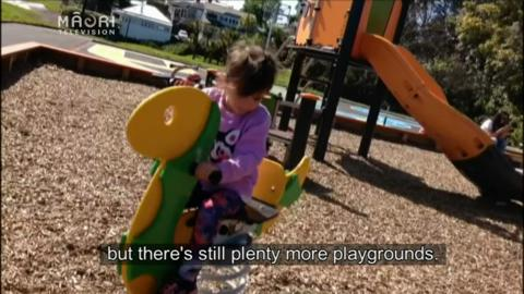Video for Want a good playground in Auckland? Māori father has the answer