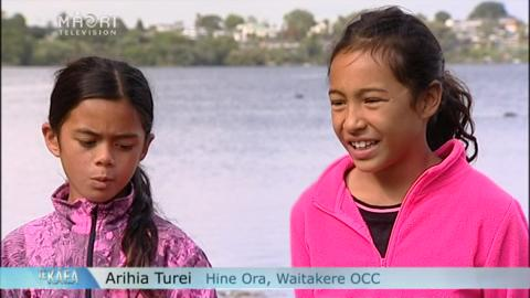 Video for Junior waka ama paddlers gear up for nationals