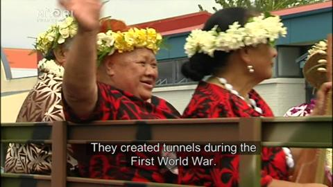 Video for NZ Tunnelling Company men honoured in Waihī