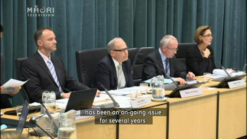 Video for SHA62 opposers protest at Fletcher hearing