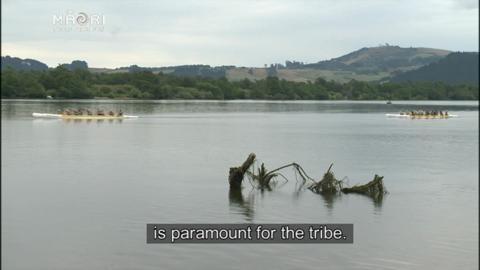 Video for DoC staff learn Waikato River history first hand