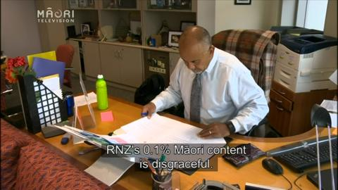 Video for Minister concerned about RNZ Māori content