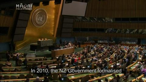 Video for Iwi strengthen bond with United Nations