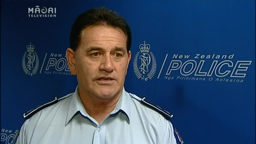 Video for Top Māori cop defends police action