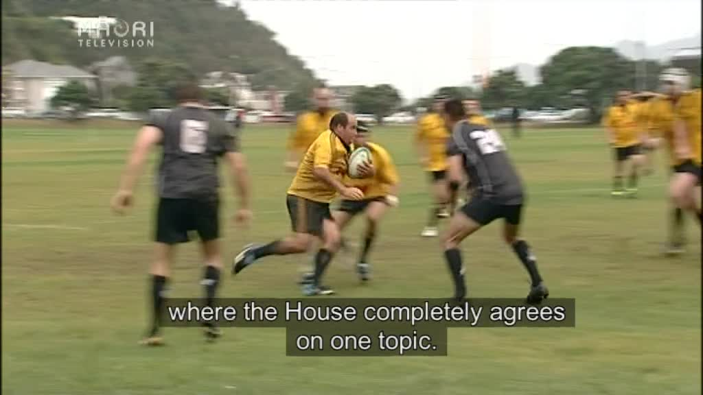 Video for MPs take democracy onto the sports field