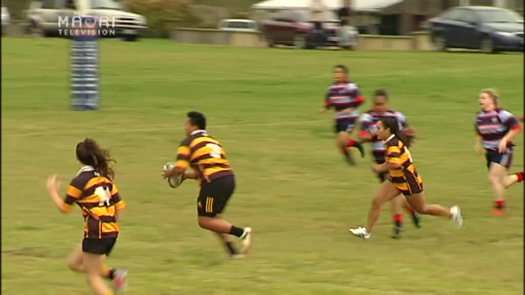 Video for Waikite win big in BOP women's rugby competition