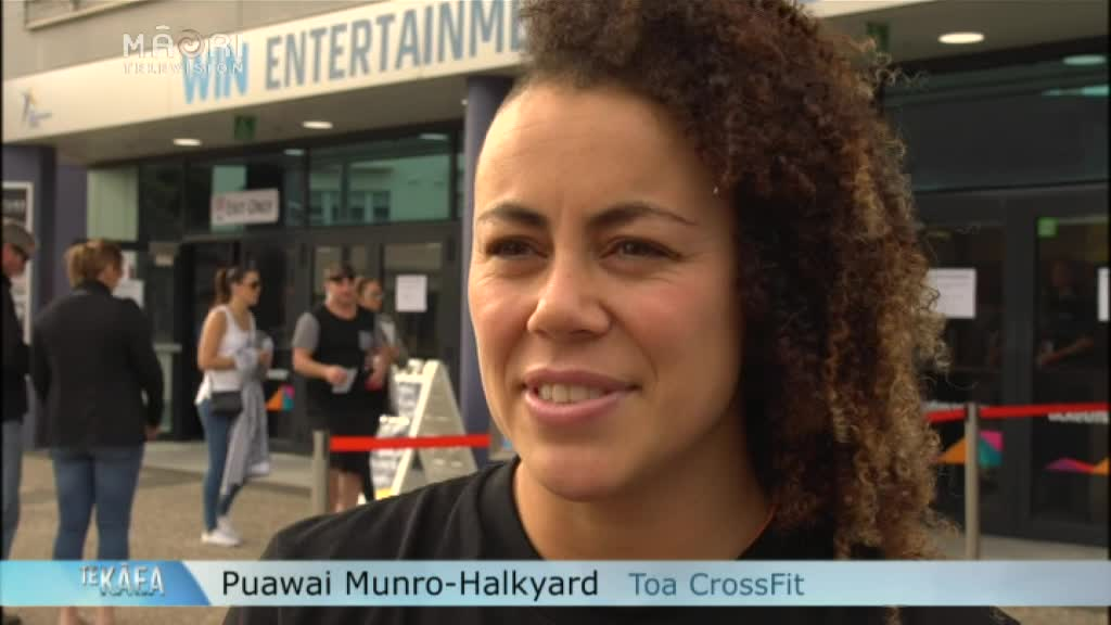 Video for  CrossFit Pacific Regional - NZ makes an impression