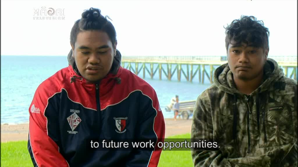 Video for Free Dive Programme to Teach Rangatahi Water Safety