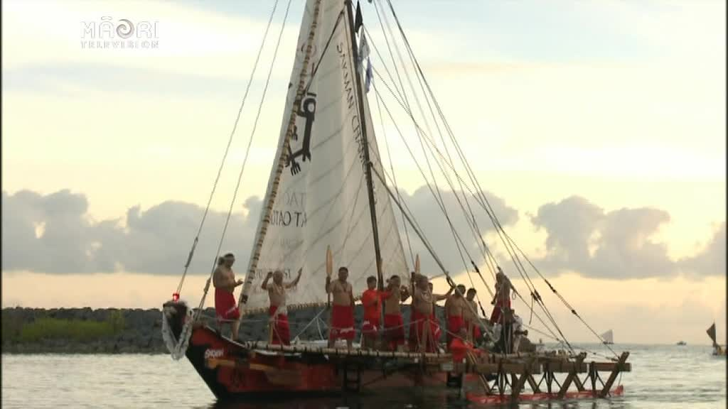 Video for Waka flotilla demonstrates connections across the Pacific