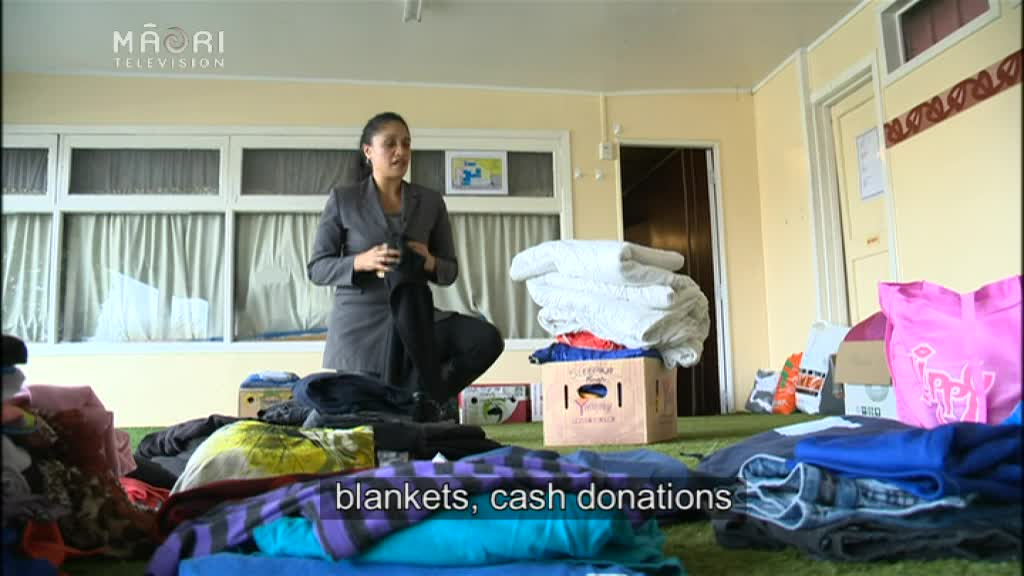 Video for First of homeless families arrive at Te Puea Marae