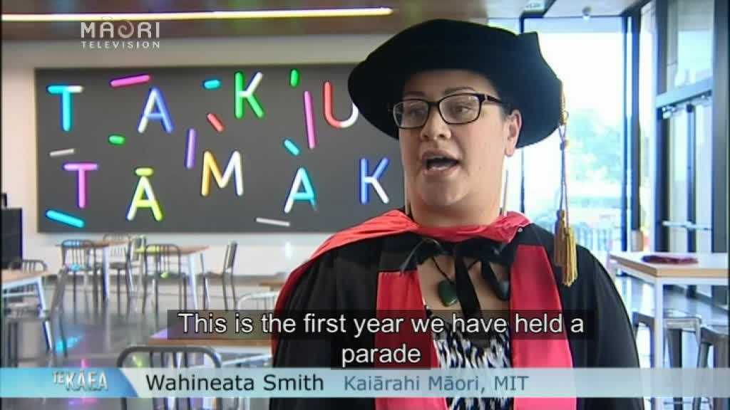 Video for Manukau Institute of Technology graduation parade turns heads