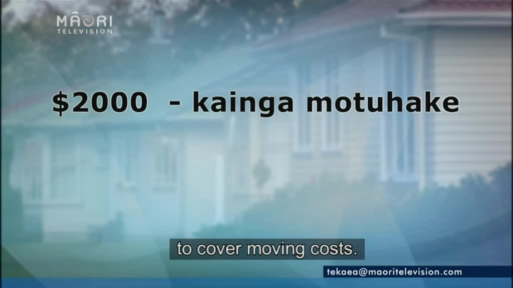 Video for Govt housing relocation initiative won't work - Iwi Trust