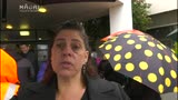 Video for Rotorua rallies in rain against child abuse