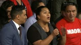 Video for Native Affairs Māori Language Special – Question Time