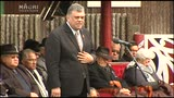 Video for Māori King welcomes the nation