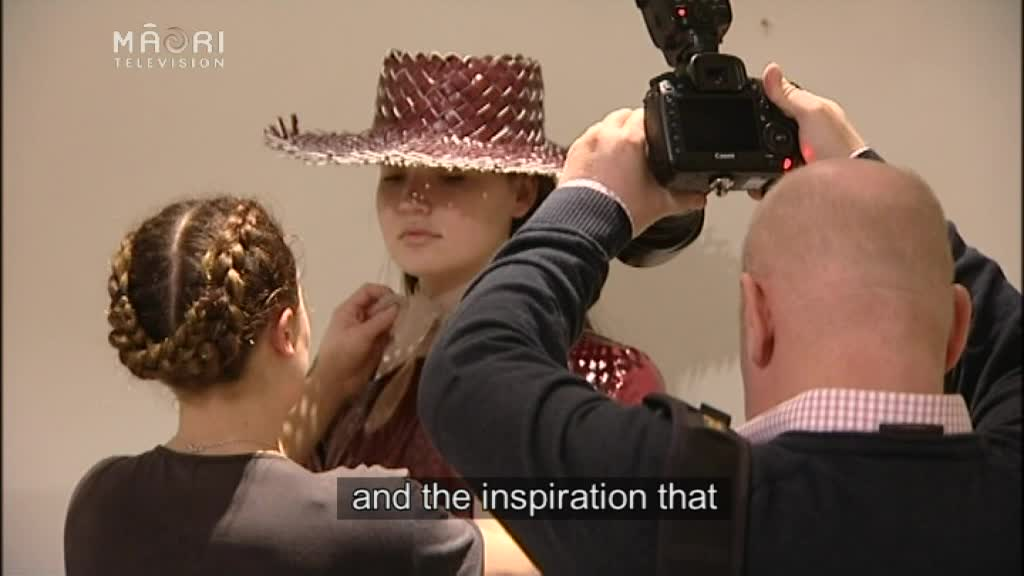 Video for Fashion week – Artist explores a fusion of two cultures