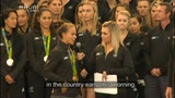 Video for NZ's most successful Olympic team welcomed home