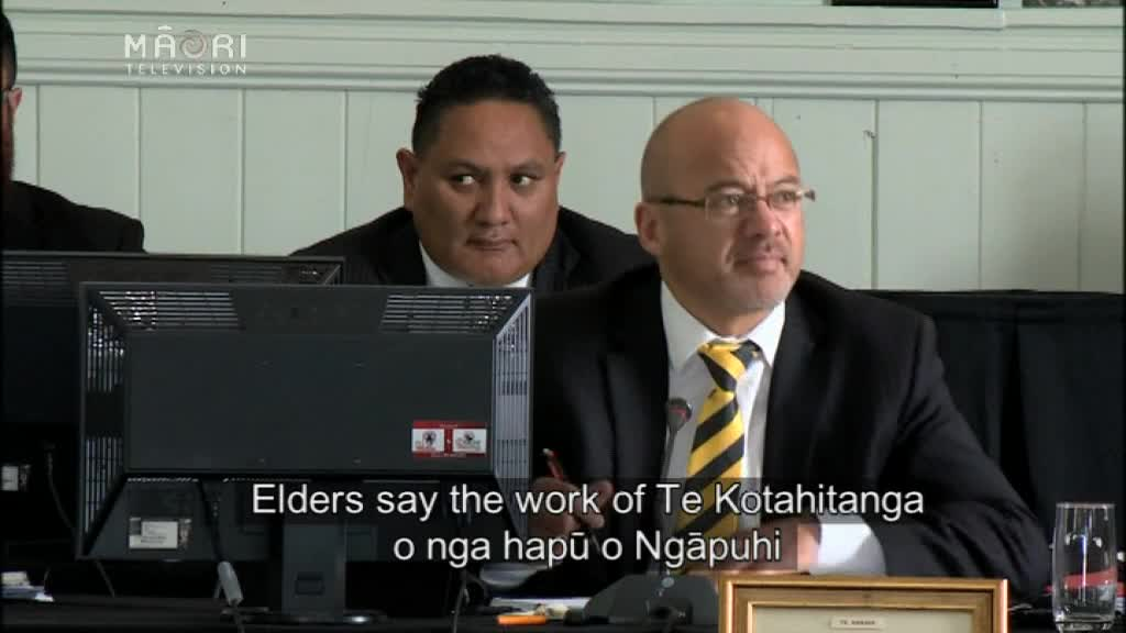 Video for Ngāpuhi prepared to go to the United Nations