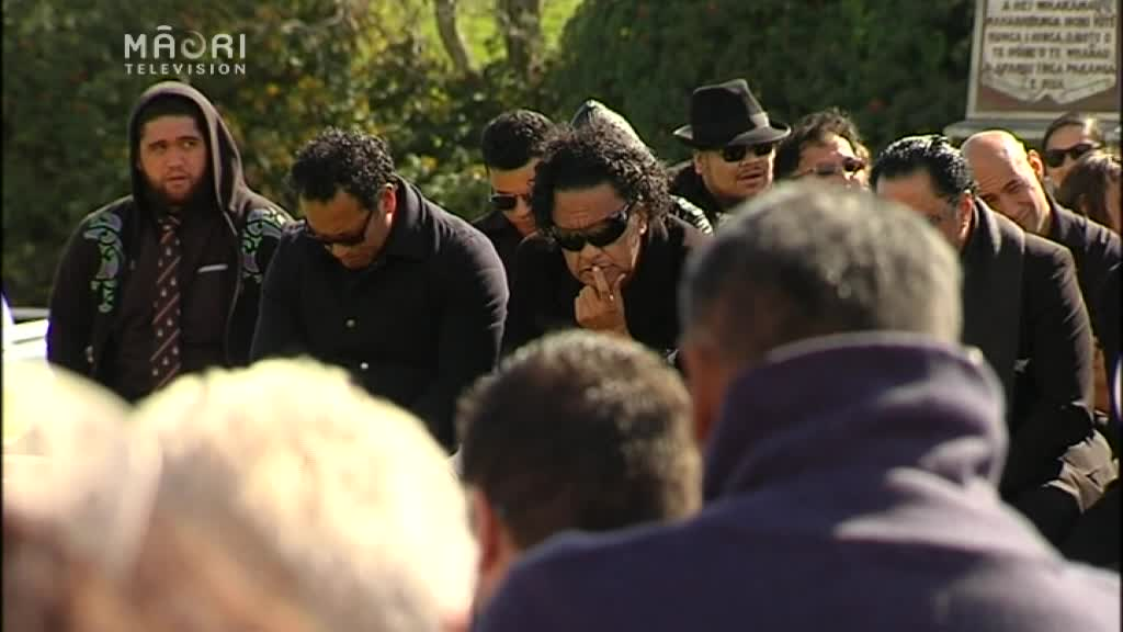 Video for Ngapo Wehi honoured in Te Kaha as Duncan MacIntyre trophy is returned