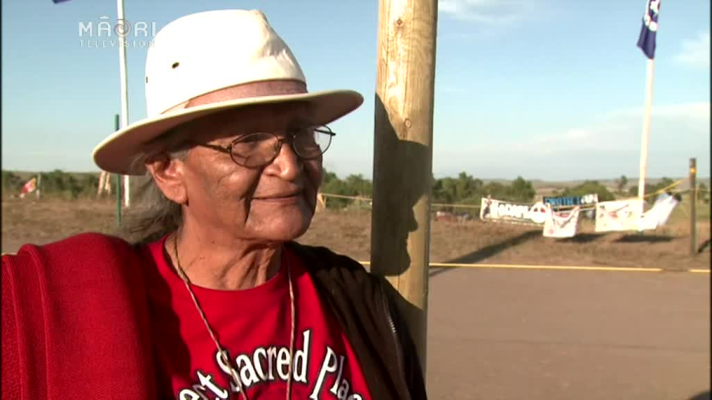 Video for Woman and children injured in Dakota pipeline protest