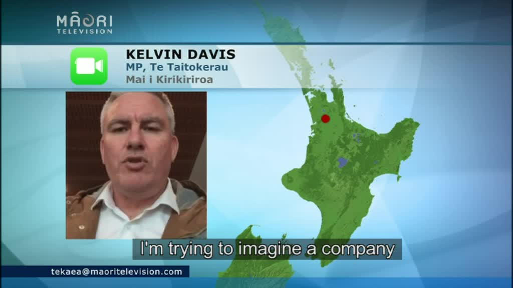 Video for Ngāpuhi Trustees outline lack of confidence in Sonny Tau in report