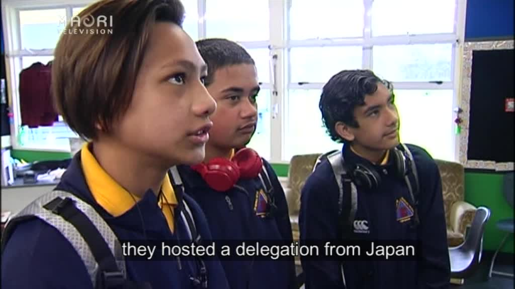 Video for Murupara students off to Japan to visit Ainu people