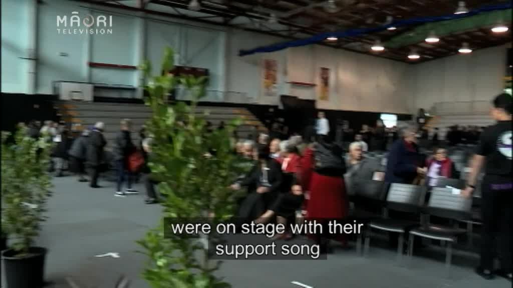 Video for Gas fumes disrupt Manu Kōrero Competition