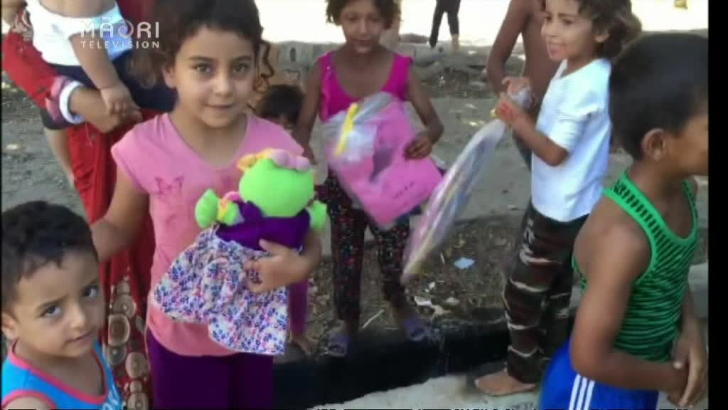 Video for Māori Samaritan helping needy in Middle East