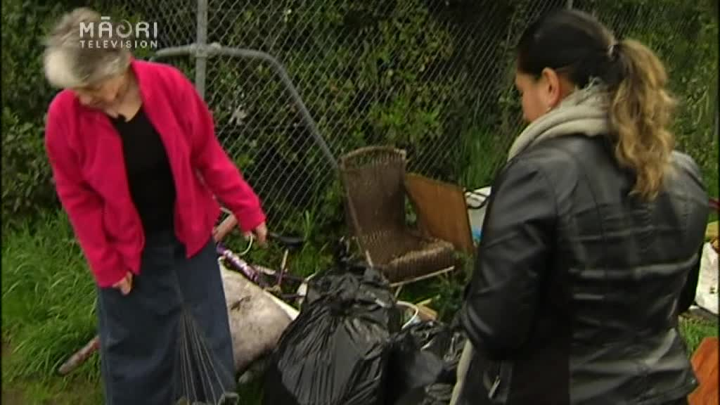 Video for Koutu community disgusted by dumped rubbish