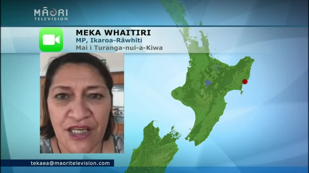 Video for MP questions rumoured job cuts at Māori Land Court