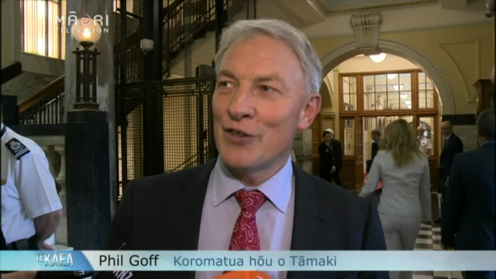 Video for Key rejects Māori seats