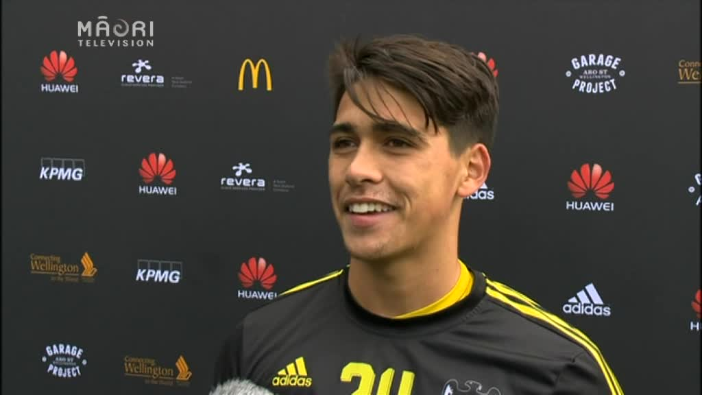 Video for A League debut for Waikato-Tainui lad