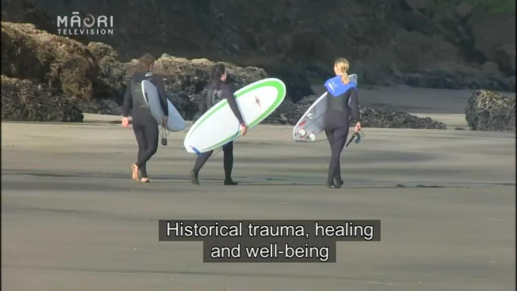 Video for Māori researcher seeks to understand 'surf rage'