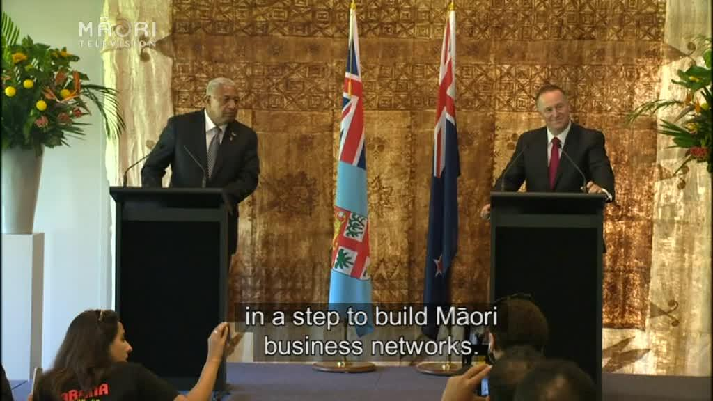 Video for Key backs economic relationships between Fiji and Iwi