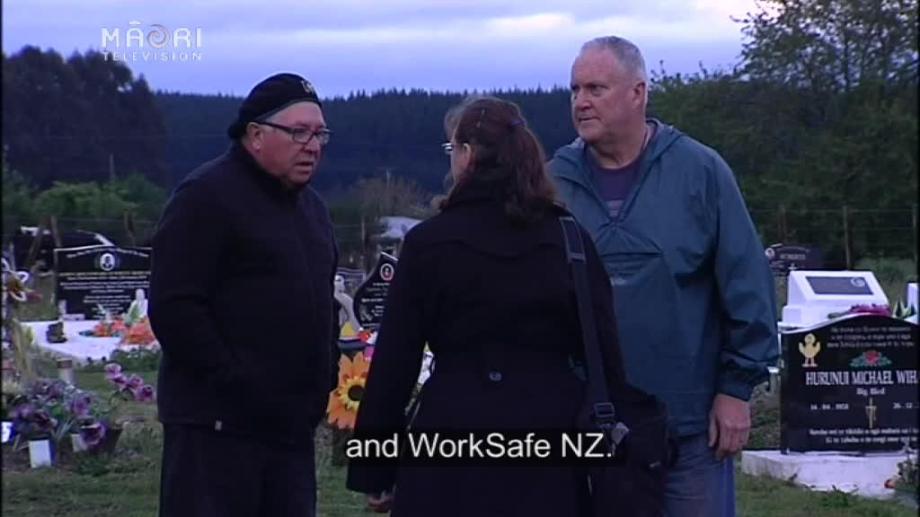 Video for Whānau makes history with exhumation