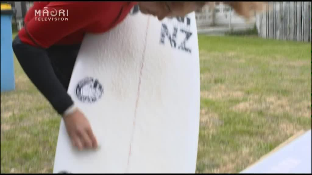 Video for Māori surfers contest for No 1 Title at Backdoor BayBash