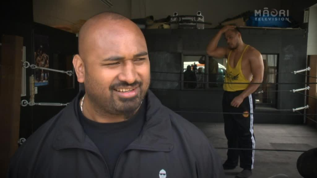 Video for Online extra - Henare plans to make an impact int he ring