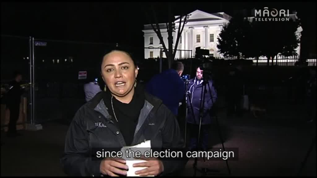 Video for US Election too close to call