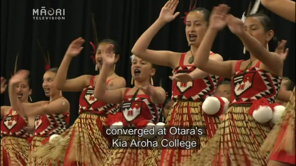 Video for Six Auckland primary schools off to 2017 National kapa haka competiton
