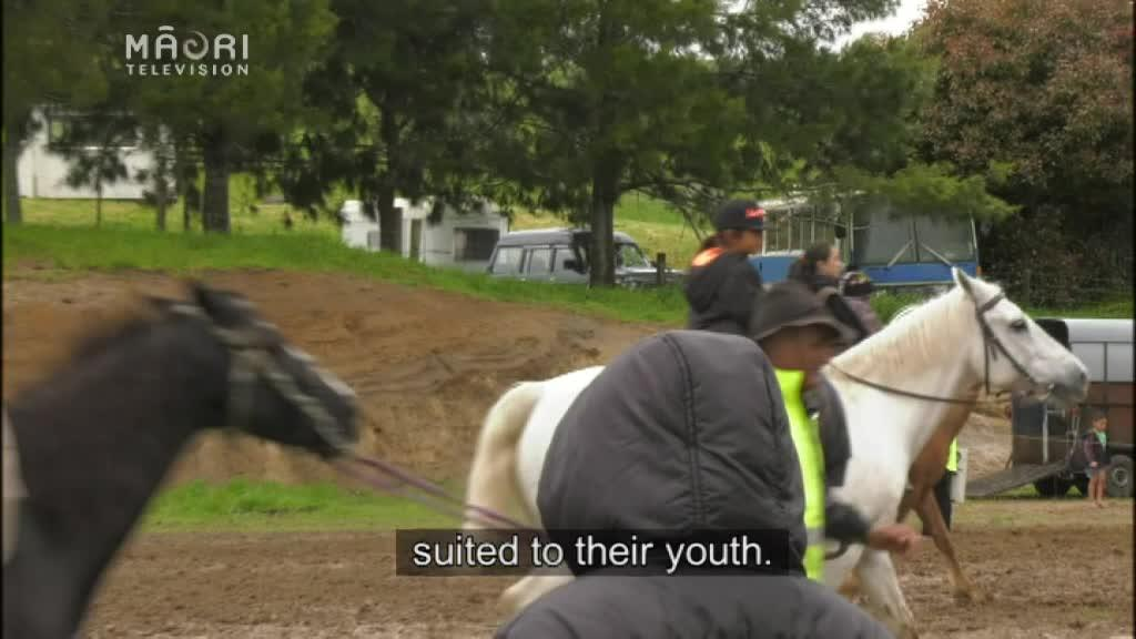 Video for Interest in horse sports rising in Rotoiti