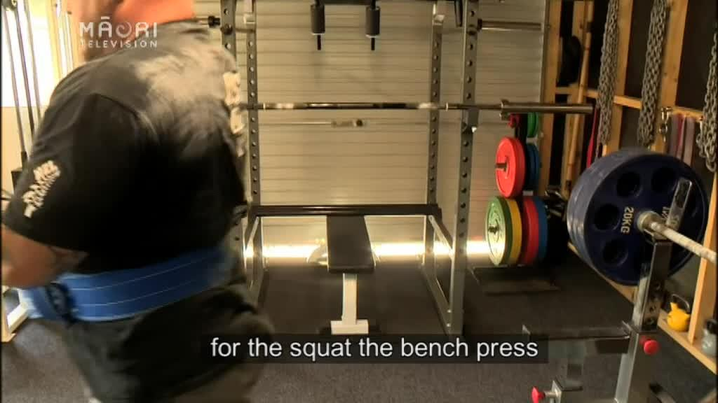 Video for Ngāpuhi powerlifter off to Asia-Pacific champs