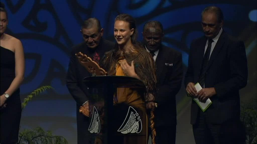 Video for Lisa Carrington wins Senior Māori Sportswoman of the Year