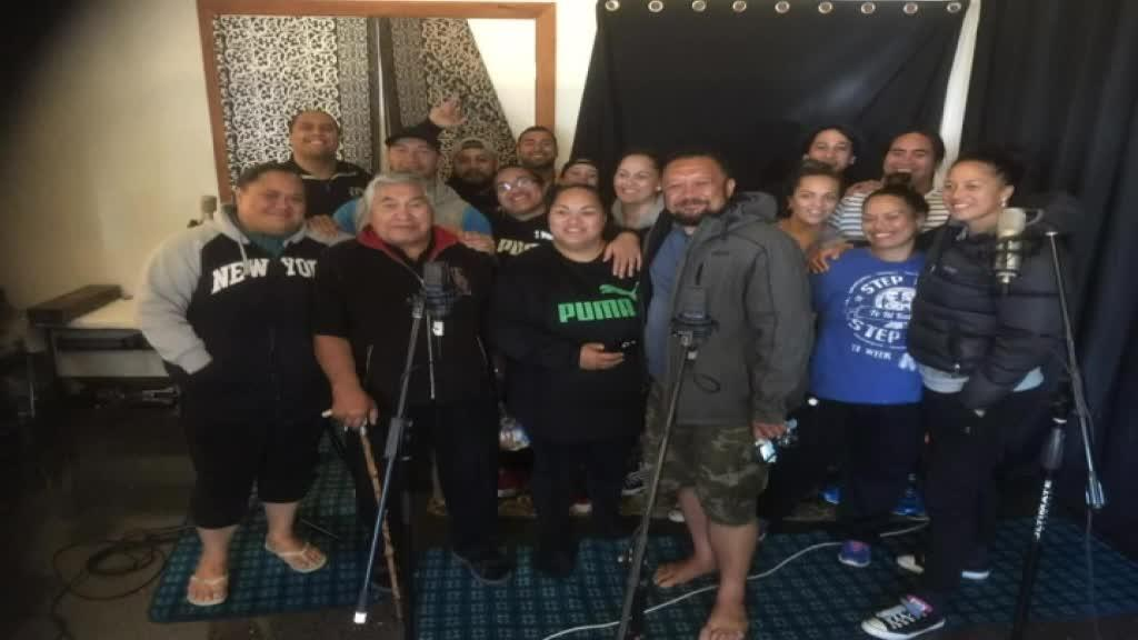 Video for Top haka group Te Iti Kahurangi release book & CD
