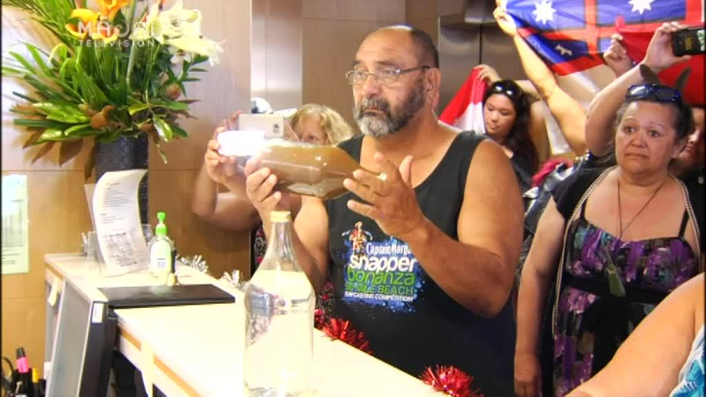 Video for We demand Citibank pull their investment - Ngāti Hau mining protestor