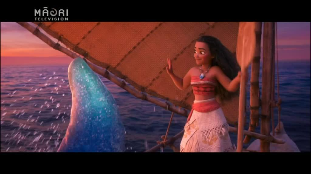 Video for Moana Premier: Aotearoa's contribution to Disney movie
